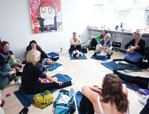 Internationalt Certificeret Instruktørkursus i Babymassage. Uge 26 2019